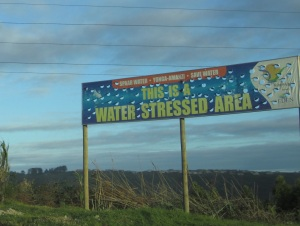 Banner in Knysna - Water Stressed Area