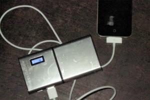Freeloader charging phone