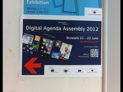 Digital Agenda Assembly poster