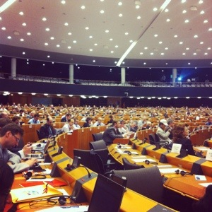 European Parliament, Plenary session, Hemicycle Room