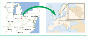 Columbus to Europe