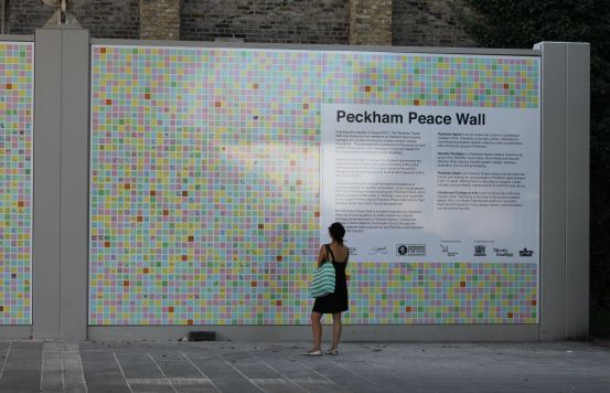 Peckham Peace Wall by Louise Wilson