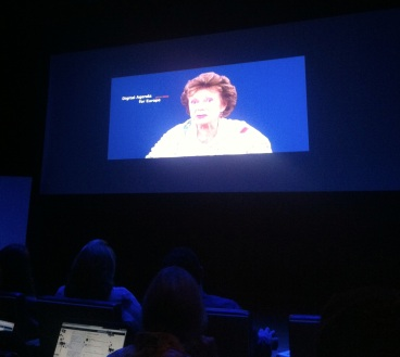Neelie Kroes video message