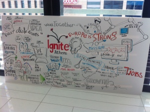 Graphic recording by The Ink Factory